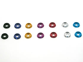 RC model parts square /SQUARE SGE-115 12 pieces for CAP aluminum M 3 dish washer