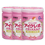 NEW icreo balance milk Pack 850 g x 3 cans
