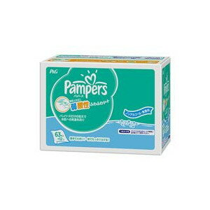 Immediate delivery ★ pampers fluffy sheet Club Pack refill (63 / pkg x 12 pieces) 1 box