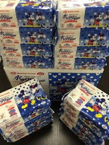 赤ちゃん本舗水99%おしりふき厚手タイプディズニーパッケージ60枚×16個パック1ケースおしりふき
