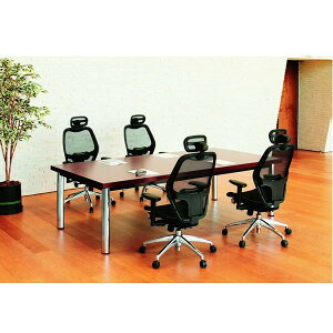 大人数での会議や打ち合わせに高級大型会議用テーブル・机DX-3612(天板:角型)W3600XD1200XH700
