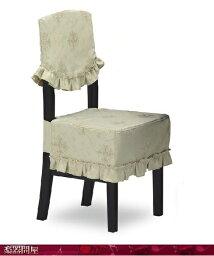 ピアノ椅子カバー 高低椅子用CK-686TG ト音エンブレムジャガード織 ライトグリーン 背もたれ椅子カバー