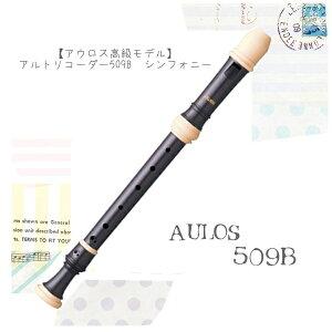 おすすめ♪【アウロス高級モデル】アルトリコーダー509B シンフォニー