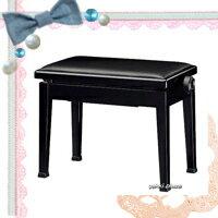 【信頼の吉澤・日本製】(定番)スタイリッシュピアノ椅子!Y-20黒