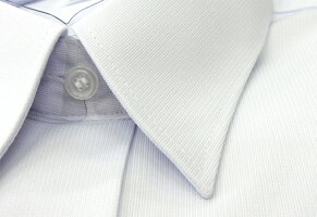 新着★ノーアイロンストレッチ抗菌防臭TOMBOW(トンボ)ゼロケアシャツ◆女子用半袖(ホワイト)