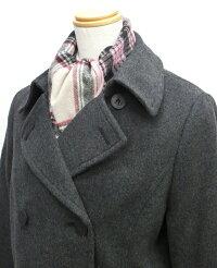 オリーブデオリーブスクール女子用ピーコートS/M/L/LL紺/チャコール軽量トンボ学生服