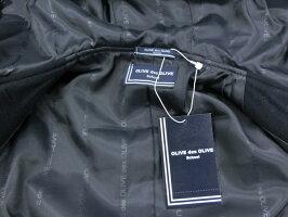 オリーブデオリーブスクール女子用ダッフルS/M/L/LL紺/チャコール軽量トンボ学生服