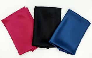セーラー服三角タイ(三角スカーフ)絹100%サテン【日本製】【メール便OK】シルクのサテン使用ハネクトーン