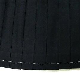 制服スカート紺24本ヒダポリ100%ウォッシャブル【ベンクーガー】【コンビニ受取対応商品】