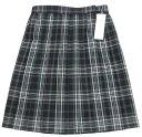 制服 スカート 大きいサイズ グレーピンクチェック【ラッキーシール対応】