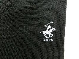 【コンビニ受取対応商品】男女兼用スクールセーターBHPCウォッシャブルVネックウール混セーター