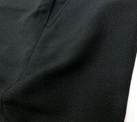 【夏用】黒標準型学生服サマースラックスノータック・ストレッチスリムストレートウルトラエアー★吸汗速乾W90/95/100/105/110/115/120