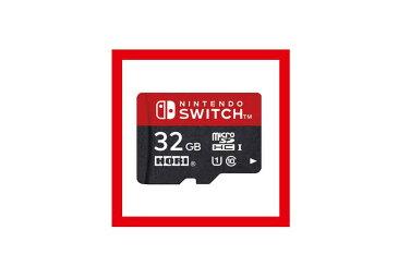 【新品】(税込価格)Nintendo Switch用 マイクロSDカード32GB for Nintendo Switch 【任天堂正式ライセンス商品】(HORI製)