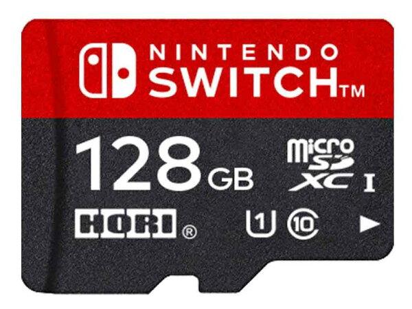 新品 (税込価格)NintendoSwitch用マイクロSDカード128GBforNintendoSwitch 任天堂正式ライ