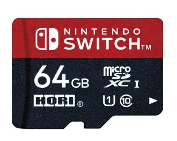 新品 (税込価格)NintendoSwitch用マイクロSDカード64GBforNintendoSwitch 任天堂正式ライセ