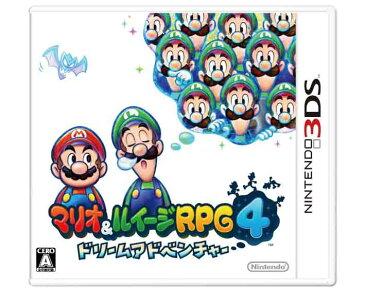 【新品】(税込価格) 3DS マリオ&ルイージRPG4ドリームアドベンチャー/新品未開封品ですがパッケージに少し傷み汚れ等がある場合がございます。