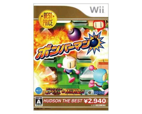 【新品】(税込価格) Wii ボンバーマン ハドソンザベスト版