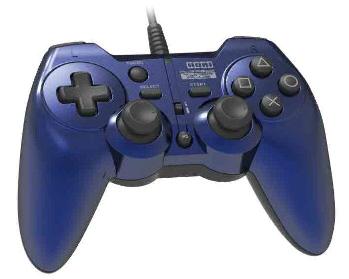 【新品】(税込価格) PS3 アナログコントローラホリパッド3ターボプラス ブルー/新品未使用品ですが、外箱に少し傷み汚れ等がある場合がございます。