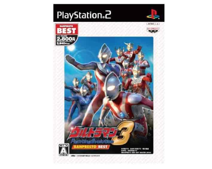 プレイステーション2, ソフト () PS2 3 BANPRESTO