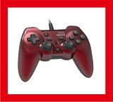 【新品】(税込価格) PS3 ホリパッド3ターボプラス レッド