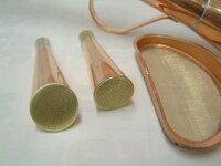 銅製の如雨露(ジョウロ)竿長4リッター
