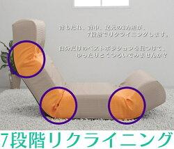 /Other/ソノタ/その他/座椅子/リクライニング/段階/ハイバック/Legless