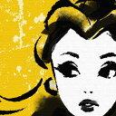 プリンセスシリーズ アートパネル ベル Disney 美女と野獣 Lサ...