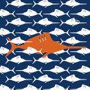 カジキマグロ ポップアート アートパネル I AM DESIGN Sサイズ 15cm×15cm lib-4122357s7送料無料 北欧 モダン 家具 インテリア ナチュラル テイスト 新生活 オススメ おしゃれ 後払い 雑貨