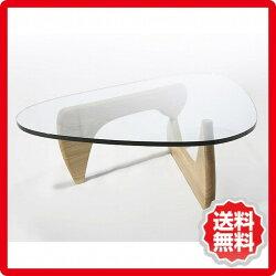 イサム・ノグチ/ガラス天板/19mm/ノグチテーブル/ka-ct3001
