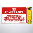 DLR002 NO ADMITTANCE