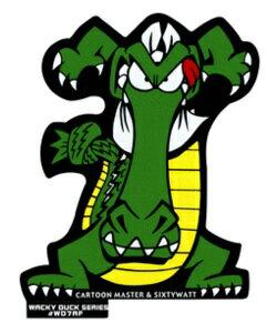 ステッカー Wacky Duck : Wacky Alligator