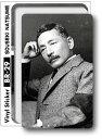 100円ブロマイドステッカー br29 夏目漱石 Sサイズステッカー