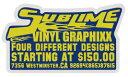 JEL25 ADVERTISING ステッカーLサイズ ポップでレトロなデザイン