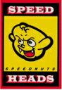 SPEEDNUTSステッカー SPD007 Speed Heads