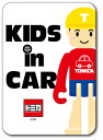 LCS648 KIDS IN CAR Tくん ロゴステッカー キッズインカー 車...