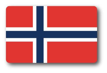 SK262 国旗ステッカー ノルウェー NORWAY 100円国旗 旅行 スーツケース 車 PC スマホ