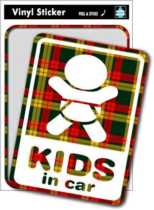 SK116 Kids in car check6 キッズインカー 出産祝いや車に ベビーインカー
