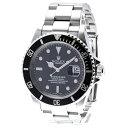 ロレックス サブマリーナ 16610 シルバー ステンレススチール 腕時計 メンズ ROLEX 自動巻き ブラック文字盤 【中古】