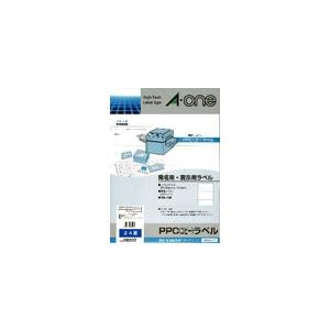 CR-01841 エーワン PPCラベル B4判 24面 100枚 28202【smtb-k】【ky】【KK9N0D18P】