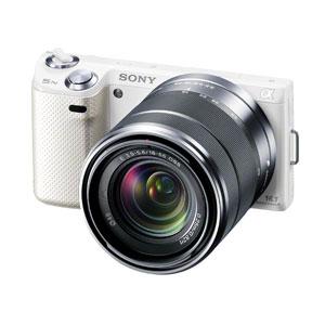 送料無料■NEX-5NK-W ソニー デジタル一眼カメラ ズームレンズキット【smtb-k】【ky】