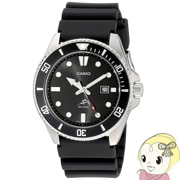 あす楽  在庫僅少  逆輸入品 カシオ腕時計スタンダードダイバーウォッチブラックメンズMDV-106-1A KK9N0D18P