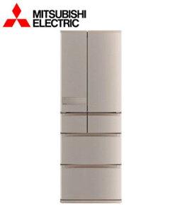 [設置込み]三菱 6ドア冷蔵庫 525L ローズゴールド MR-JX53Y-N【smtb-k】【ky】