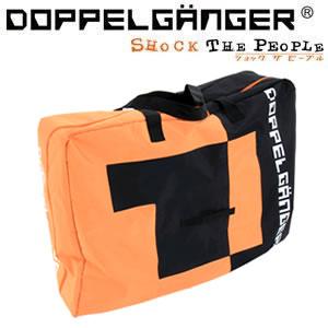 【メーカー直送】 DB-4 ドッペルギャンガー 折り畳み自転車用 キャリングバッグ ブラック×オレンジ【KK9N0D18P】
