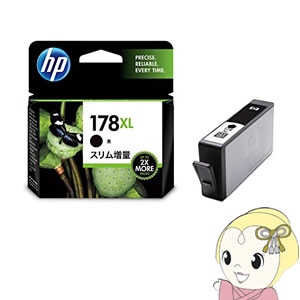 CN684HJ HP ヒューレット・パッカード 178XL 純正 インクカートリッジ 黒 スリム増量 HP178BKSL【KK9N0D18P】