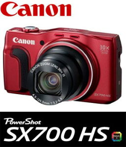 送料無料!(北海道・沖縄・離島除く)PSSX700HS-RD キャノン デジタルカメラ PowerShot SX700...