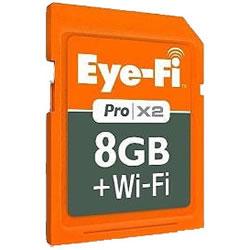 送料無料■【EFJ-PR-8G】Eye-Fi[アイファイ] Wi-Fi内蔵SDカード Eye-Fi Pro X2 アイファイプ...