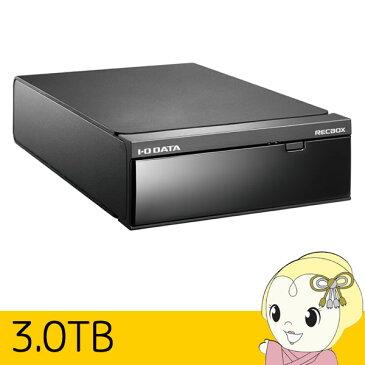 HVL-DR3.0 IOデータ トランスコード搭載ハイビジョンレコーディングハードディスク「RECBOX」3TB【smtb-k】【ky】【KK9N0D18P】