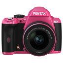 送料無料■【K-r レンズキット ピンク】ペンタックス デジタル一眼レフカメラ [1240万画素...