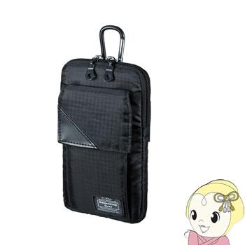 PDA-MGSG3BK サンワサプライ スキミング防止ポケット付きマルチガジェットケース(L)【KK9N0D18P】
