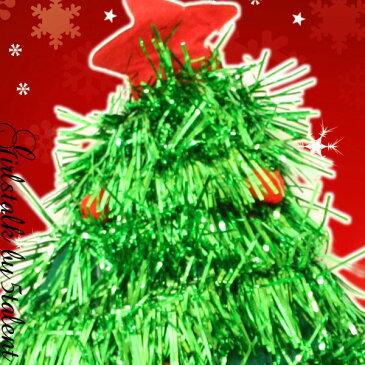 ◆あす楽即納◆クリスマスツリーハット!大きめで可愛い盛り上がるキラキラ系★かぶるだけ簡単装着帽子【クリスマス 衣装 仮装 コスプレ サンタ ツリー アクセサリー 小物 インパクト コスチューム かわいい 着痩せ 高級感 激安 格安 シルバー グリーン 人気】【RCP】大きい
